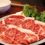 今半 別館 - 上肉のすきやきランチ 2500円のお肉