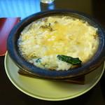 35782639 - 鯛と天ぷらのご膳の 雑炊