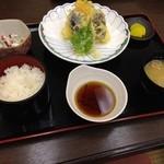 武蔵野庵 - 料理写真:天ぷら御膳