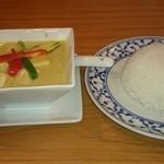 プロォーイ タイ料理 - グリーンカレーです。