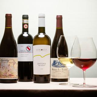 ◆ワインはビンテージものを中心に豊富にご用意◆