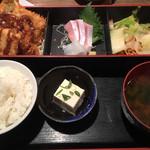 旬魚旬菜 びんびや - 日替わりランチ