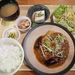 隈本総合飲食店 MAO - 日替わり(麻婆茄子春雨)ドリンク付き 890円