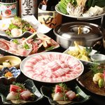 市川 おいどん - 料理写真:ご宴会コース一例