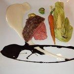リストランテ ヴィーアサクラ - あしたか牛。