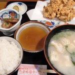 たかちほ亭 - かきあげ定食 890円