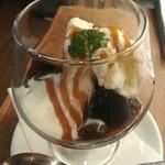 カフェ プリモ パッソ - 珈琲ゼリー。お勧め!!