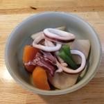 かわせみ - いかと里芋の煮物