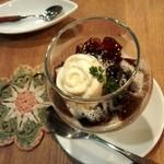 カフェ プリモ パッソ - ちょっと特別な日の珈琲ゼリー。