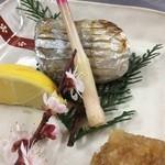 膳家 小山 - 太刀魚の塩焼き
