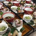 膳家 小山 - 春のコース前菜