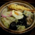 かまど - 鍋焼きうどん!(2015,03/07)