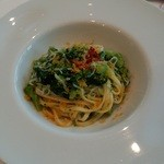 リストランテ ウミリア - しらすと菜の花のタリオリーニ
