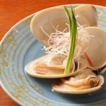 呵呵 - 国産蛤 酒蒸し
