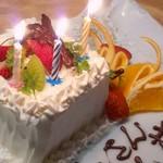 35792588 - 送別のケーキ