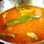 ネパールカレー 奈央屋 - 野菜カレー