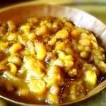 ネパールカレー 奈央屋 - マメのスープ