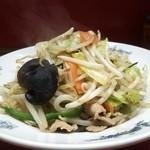 どさん子大将 - 野菜炒め(350円)