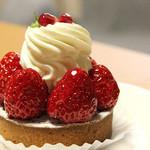 プチジャポネ - 苺のタルト