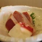 ごはんや金沢 - 小鉢の刺身