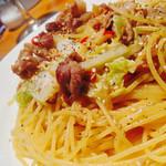 景虎 - 豚肉と白菜のパスタ