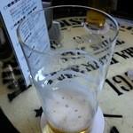 ビールスタンド重富 - (2015.03)アンコールで登場のモルツ。壱度注ぎ