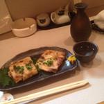 そば 小料理 凛 - 納豆包み焼き