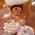 キリンケラーヤマト - 生ビール&カニサラダ