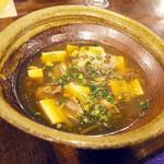 リトルスターレストラン - 牡蠣と豆腐のあんかけ煮(パーティーメニュー)