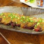 リトルスターレストラン - かつおのたたき(パーティーメニュー)