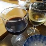 群ちゃん - 白ワイン・赤ワイン ¥120