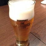 どろまみれ - 生ビール