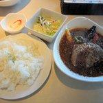 イチロク - ハンバーグと野菜のスープカレー(2015.03.10)