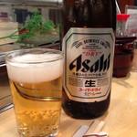 菊正 - 瓶ビール(中)