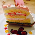 サンデーブランチ - 象のはな子ケーキ
