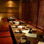 Hakodate Dining 備後屋 - 内観写真:【店内全席掘りごたつ】二階宴会場仕様