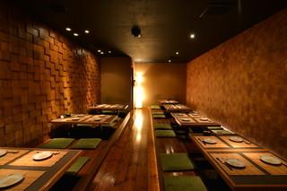 Hakodate Dining 備後屋 - 【店内全席掘りごたつ】 一階客席