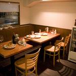 キッチン ソウショー - 6~8人掛けに変更できるテーブル