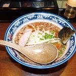 麺屋 黒船 - 醤油麺