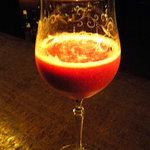 bar 松下 - 苺のカクテル