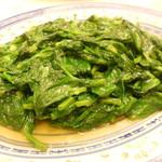 天香楼 - 豆苗炒め