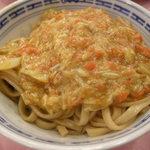 天香楼 - 蟹味噌麺