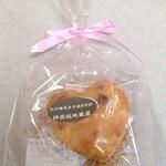 神楽坂地蔵屋 - 手焼き煎餅 2枚入り 300円