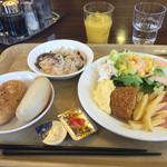 ホテルルートイン - 2015年3月。朝食は洋食バージョンで。