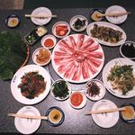 ハンマダン - 料理写真:三段バラ食べ放題