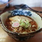 玉響 - 料理写真:甘露醤油麺☆