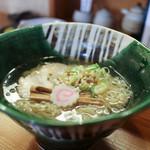 玉響 - 竹燻製麺 大盛☆