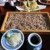 かなうち - 料理写真:板天そば全体図