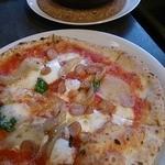 35827050 - サービスAランチの「・マルゲリータ(トマトソース/モッツァレラチーズ/バジル)」