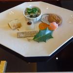 与太呂 - レイトランチコース 前菜